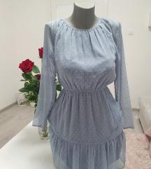 H&M plava haljina (tunika)