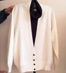 Yessica vitage beli džemper