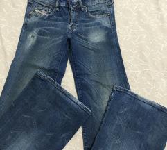 """Jeans Diesel """"sniženo """"  vel 26"""