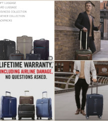 Nov, Carlton, putni kofer