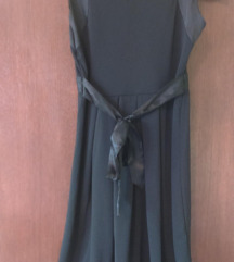 Haljina crna elegantna SNIZENJE 2000 din