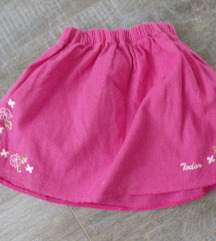 Suknjica i majicica Todor & Pom Pom