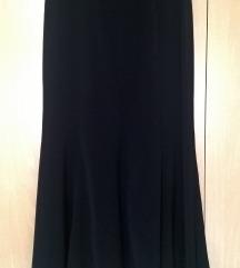 Suknja crna duža 38