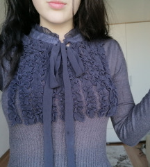 zimska vintage haljina