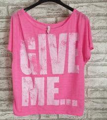 REZ NOVA Pink majica na kratke rukave