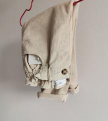 Zara paper bag pantalone 92,novo