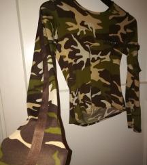 Moderna military bluza majica 👕 vojnicka👌