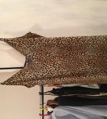 Animal print H&M haljina