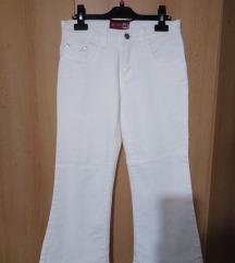 Bele pantalone zvonarice SNIŽENJE