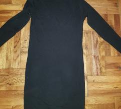 Crna rolka haljina BEZ RAZMENE