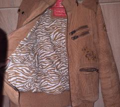 NOVA zimska jakna, kamel boje