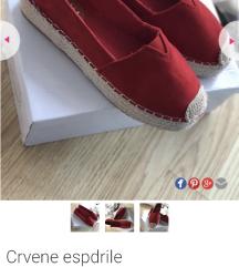 SNIŽENJE! Crvene espadrile