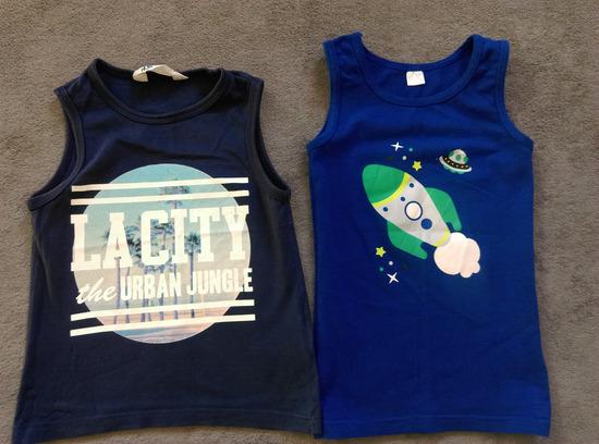 Dve H&M majice do 4god