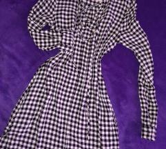 Karirana košulja haljina(tunika) XS/S