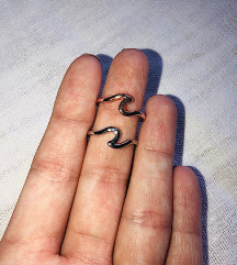 Silver-gold rings