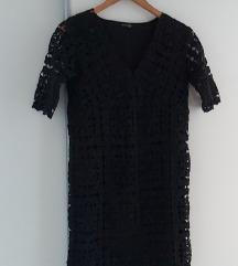 Massimo Dutti besprekorna heklana haljina SNIZENO