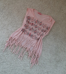 Roze boho majica sa resama 😻😻💫