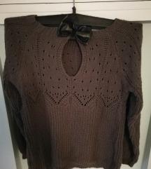 Džemper sa mašnicon