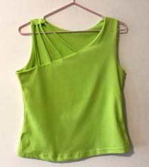 Neon zelena majičica na bretele