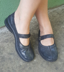 Alpina crno sive preudobne kozne cipele