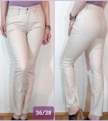Skinny pantalone od materijala nalik eko kozi