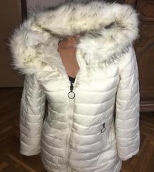 Sedef bela jakna,sa 2 lica. S/M