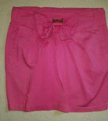 Pink suknjica