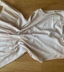 Zara majica nude- roze