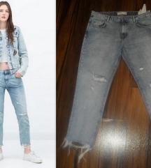 ZARA ripped jeans!