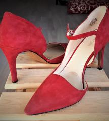 Crvene štikle - Nine West kožne