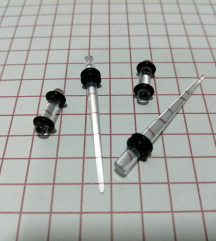 Prosirivaci za usi + plagovi 3mm