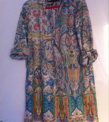 Zara tunika - haljina sa paisley - kašmir šarom