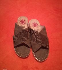 Kožne anatomske papuče