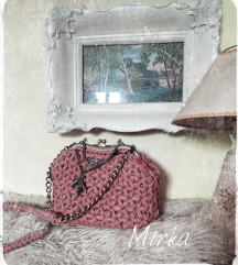 Handmade vintage clutch