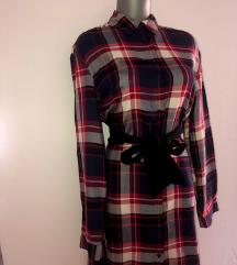 Zara kosulja-haljina NOVA