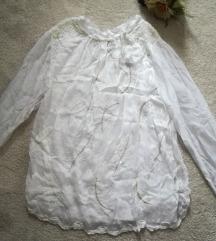svilena bluza 100%svila L/XL