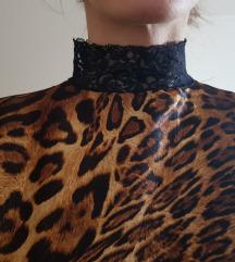 SNIŽENO! 1750 RSD Svilenkasta leopard haljina
