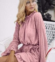 Puder roza haljinica sa etiketom