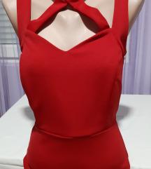 Crvena haljina M