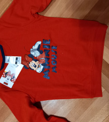 Minnie crvena bluza velicina 104