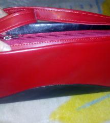 Crveno crna torba