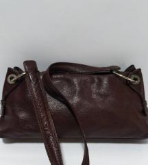 FANCY kožna vrhunska torba 100%koža 34x16