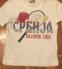 Majica Srbija za male navijače%%%
