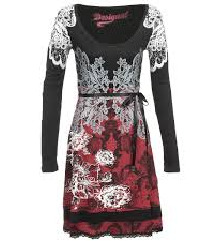 Desigual haljina vel s pamucna