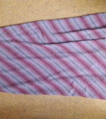 Duga prelepa bordo suknja M - srednje debljine