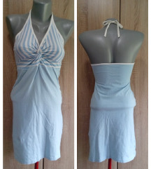 Pamucna plava haljina
