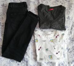 Nove farmerke bolero i majica S/XS