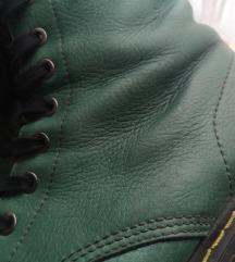 Zelene KOŽNE čizmice SNIŽENE