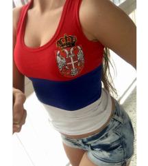 Srbija atlet majica