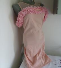 Nova roze cvetici oko ruke haljina S
